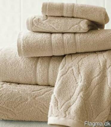 Полотенца Жакард, Промо, Лого, Отель, с вышивкой, Кухонные