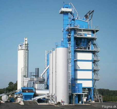 Б/У стационарный асфальтный завод Benninghoven TBA- 200 т/ч