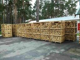 Дрова колотые твердых пород дерева - граб, дуб, ясень - фото 4
