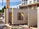 Prefabricated frame-panels for house manufacturing - photo 1