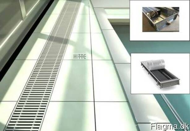Hitte trench heating/cooling convectors