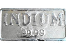 Indium guld | metalindiummærke InOO GOST 10297-94