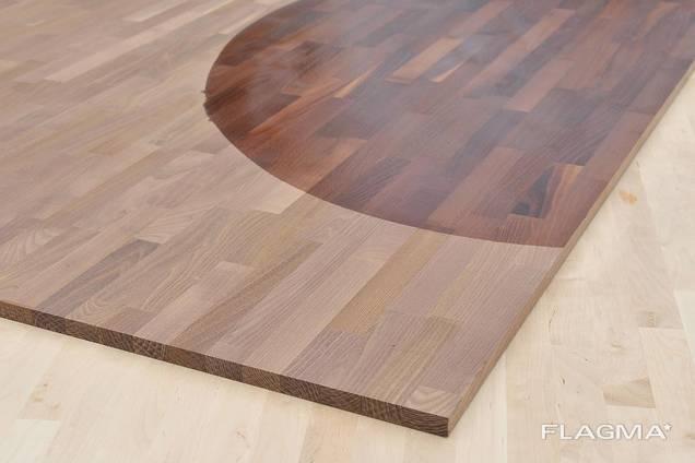 Möbelplatten , Treppenstufen , Decklamellen für Parkiett