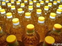 Масло подсолнечное рафинированное дезодорированное Украина