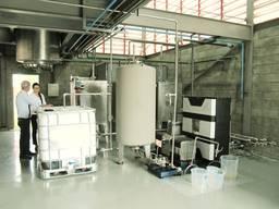 Биодизельный завод CTS, 2-5 т/день (Полуавтомат), Сырье любое растительное масло