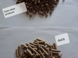 Pine pellets EnPlus A1, 6mm direct from producer - photo 2