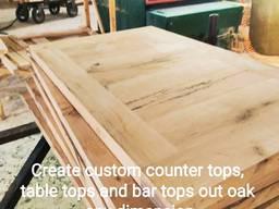 Selling countertops reclaimed oak