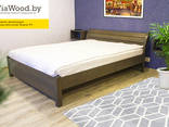 Double and single wood beds made of alder - фото 2