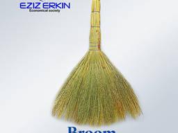 Brooms from sorghum broom