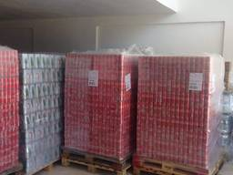We have fresh stock of coca cola 330ML and red bull