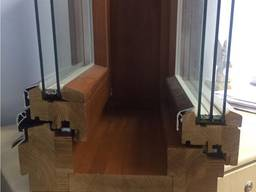 We produce wooden tilt-and- turn windows from conifer - photo 7
